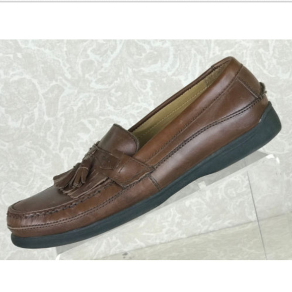 9020b783cb3 Dockers Other - Dockers Sinclair 10 M Leather Tassel Loafer Shoes